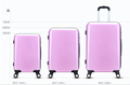 Cheap abs spinner luggage set for teenager