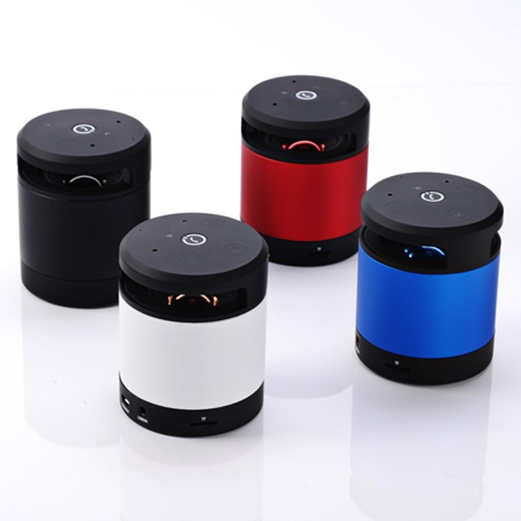 (Top) Hot Sell Fashion Human Action Sensor Mini Speaker, Wireless Bluetooth Speaker, Portable Speaker with Handsfree Function
