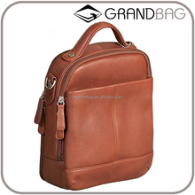 Classical Genuine Leather Women OEM Handbag Roomy Cross Body Bag for Ladies Leather Bags for ipad