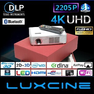 Family Home 3D Theater Projector Z2000SD