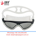 junior kids swimming goggles custom logo print factory price
