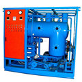 Transformer oil degassing machine