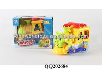 B/O building block cartoon telephone toy loco for kids