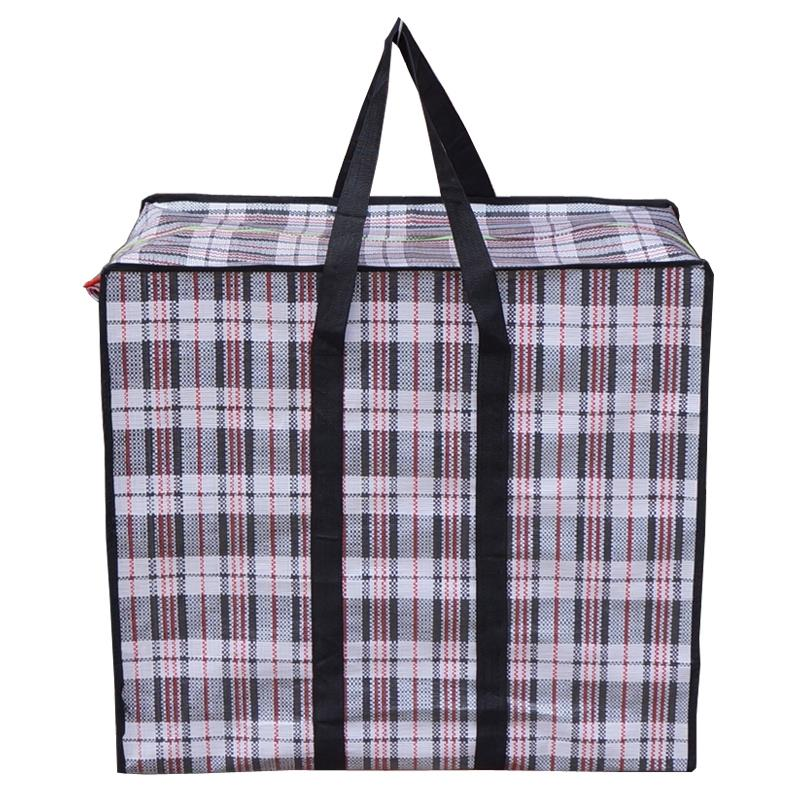 Large shopping pp woven bag with logo