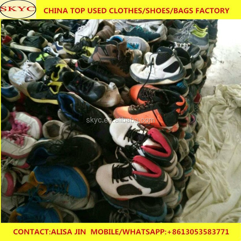 used sport shoes for Iraq /second hand shoes in bales/used shoes in China