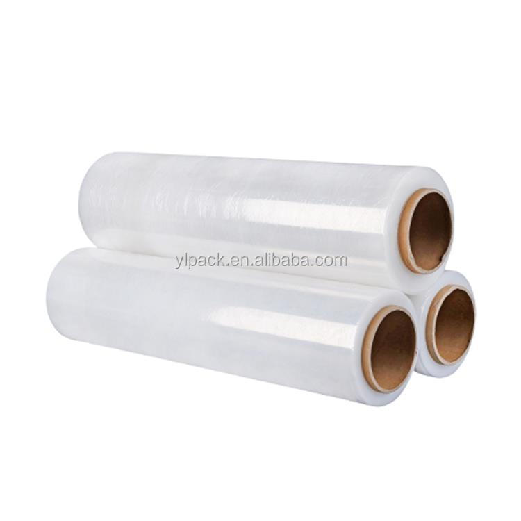 LLDPE Pallet PE Stretch Film 20 in. x 1000 ft. Clear Single Roll