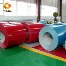 ppgi prepainted galvanized steel coil with 03*1000 carbon cold rolled steel coils qste 500tn