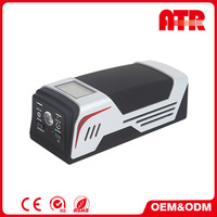 USB 2.4A charging port White + Black car jump starter all start boost for Car