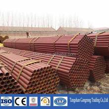 top quality with competitive prices ERW steel tube sizes