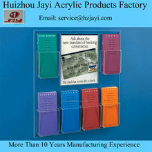 Factory directly a5 leaflet holder, acrylic a4 leaflet holder, Wall mount a6 leaflet holder