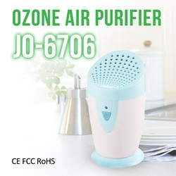 Best Selling Portable Ionic Ozone Air Purifier For Car & Refrigerator JO-6706 (Remove smoke & dust & bad smells effectilvely )