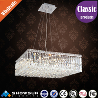 Chinese process project egyptian Crystal home decoration light fixture