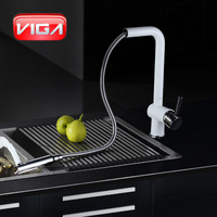 Single lever Pull out Kitchen Sink Faucet
