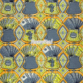 Item No.067439 Factory price direct sale veritable Central Africa super wax printed fabric
