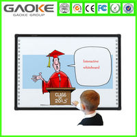 2015 factory wholesale cheap interactive glass whiteboard prices smart board optical digital boards for class