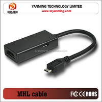 MHL to HDMI Adapter Micro USB to HDMI adapter MHL for Samsung Galaxy S2