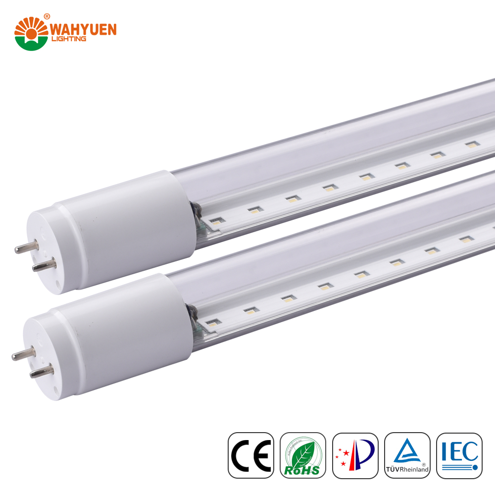 free sample 130 lux 18w PC <strong>light</strong> bar tube clamp with ce rohs iec t8 <strong>led</strong> tube <strong>light</strong>