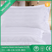 WEISDIN wholesale alibaba 100% cotton 3cm strip single use pillow case made in China