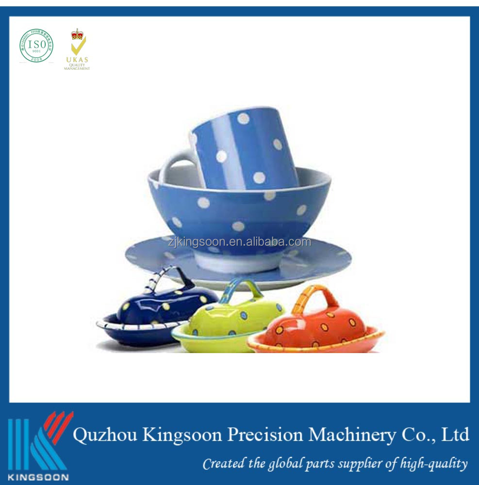 Food Grade PP Plastic Parts Plastic Bowl Dishes