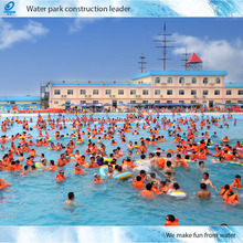 Water park funny surfing wave pool swimming pool wave machine construction