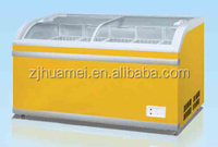 500L Electric Power Source Chest Freezer with Glass Door