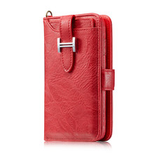 leather wallet stand flip cover cases with cash for iphone 6 8 X