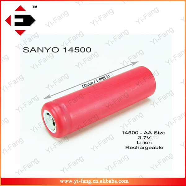 Authentic UR14500-P BRVO 14500 840mAh Lithium Flat Battery For Mechanical Mods