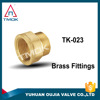 forged pipe fittings plug SPT /NPT male thread brass material cw617n flange endings tube