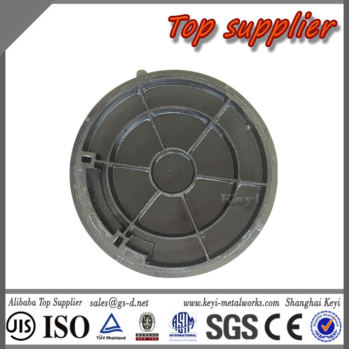 Recommended Top Supplier Clay Sand Casting OEM Manhole Cover&Customized Round Recessed Manhole Cover