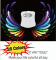 Hot Selling 16 Colors Changing Toilet Sensor Light LED Toilet