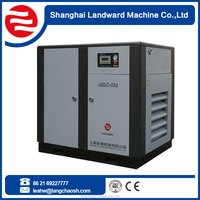 certified by CE ISO9001:2008 55KW single screw direct driven 75HP air screw compressor