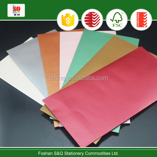 for invitation handicraft DL / C6 or any other size metallic envelopes inject / laser printing