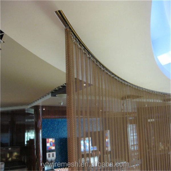 (free sample)diamond decorative metal wire mesh and curtains