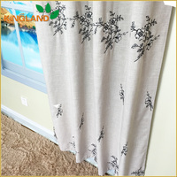 America style continuous curtain fabric