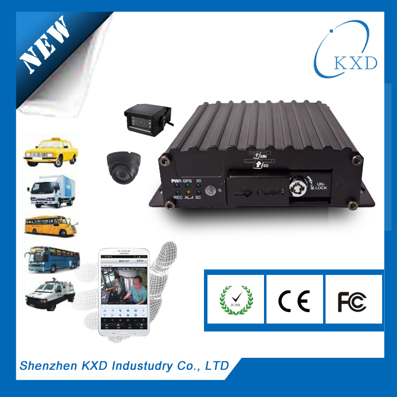 4CH hdd mobile dvr +h.264+1tb hdd+anti-vibration+multi clients (PC, web, IOS/Android)