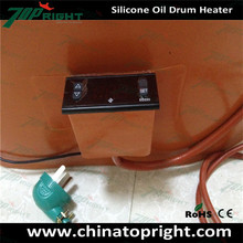 Diesel Engine Water Jacket Heater Silicone Rubber Heating Pad with Temperature Control
