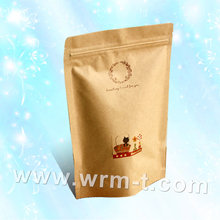 Stand up pouch with zipper for freeze fruit,Dried food packaging bag