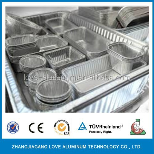 aluminum disposable foil pans pollution free with high quality