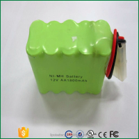 AA nimh 12v ni-mh battery 1800mah LED light battery