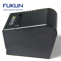 Flexible OEM design 80mm thermal printer android usb hotel bill receipt printer in ultra fast speed FK-POS80-BS