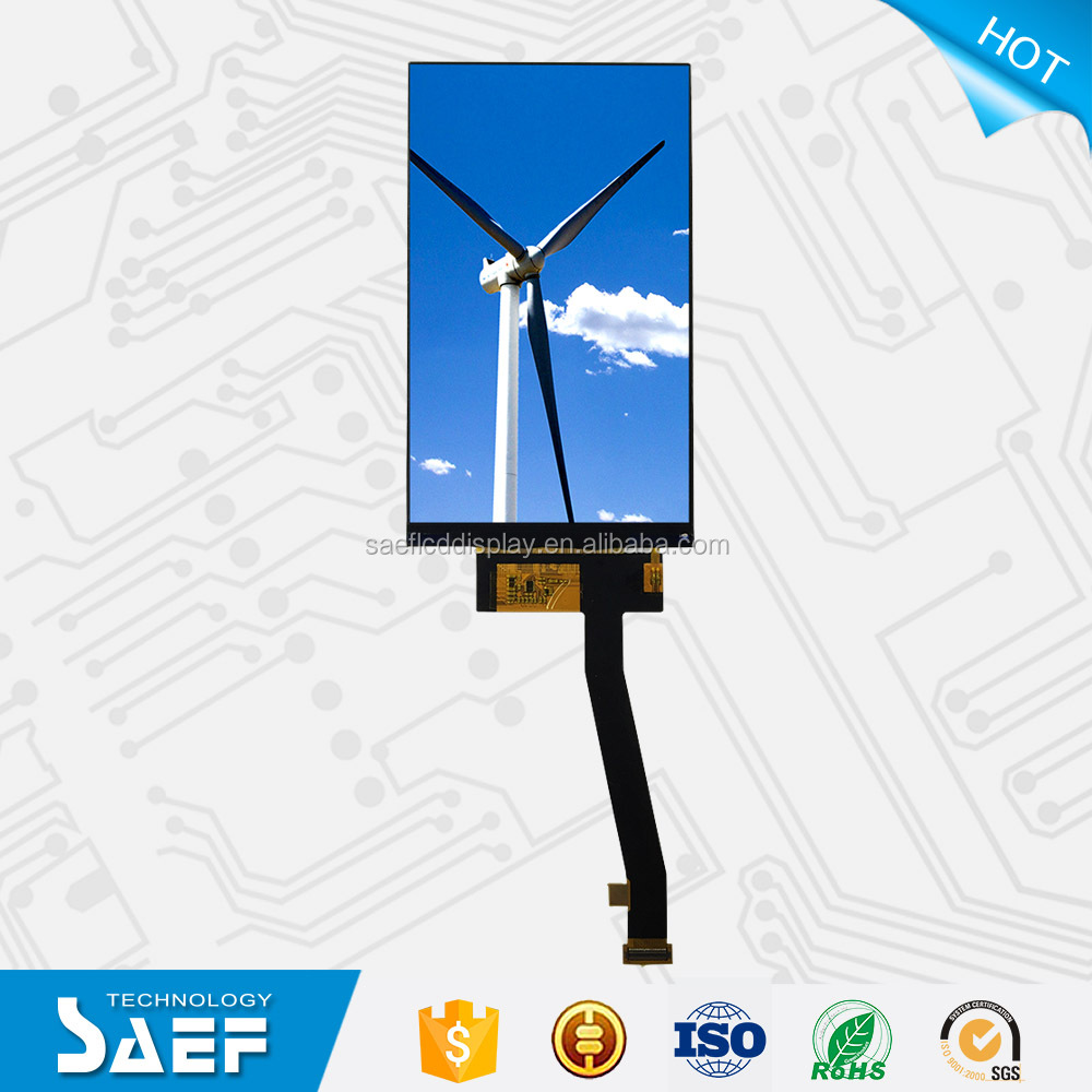 5 inch TFT lcd module NT35596 screen panel with 1080*1920 dot display