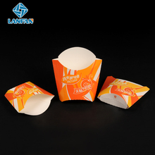 Wholesale Eco-friendly oil proof french fries paper box in china