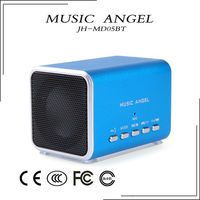 portable fm radio bluetooth speaker jambox rechargeable battery
