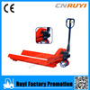2500kg mini manual stacker portable forklift lifter hand pallet trucks