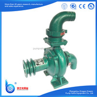 centrifugal bent pipe irrigation water pump with diesel engine