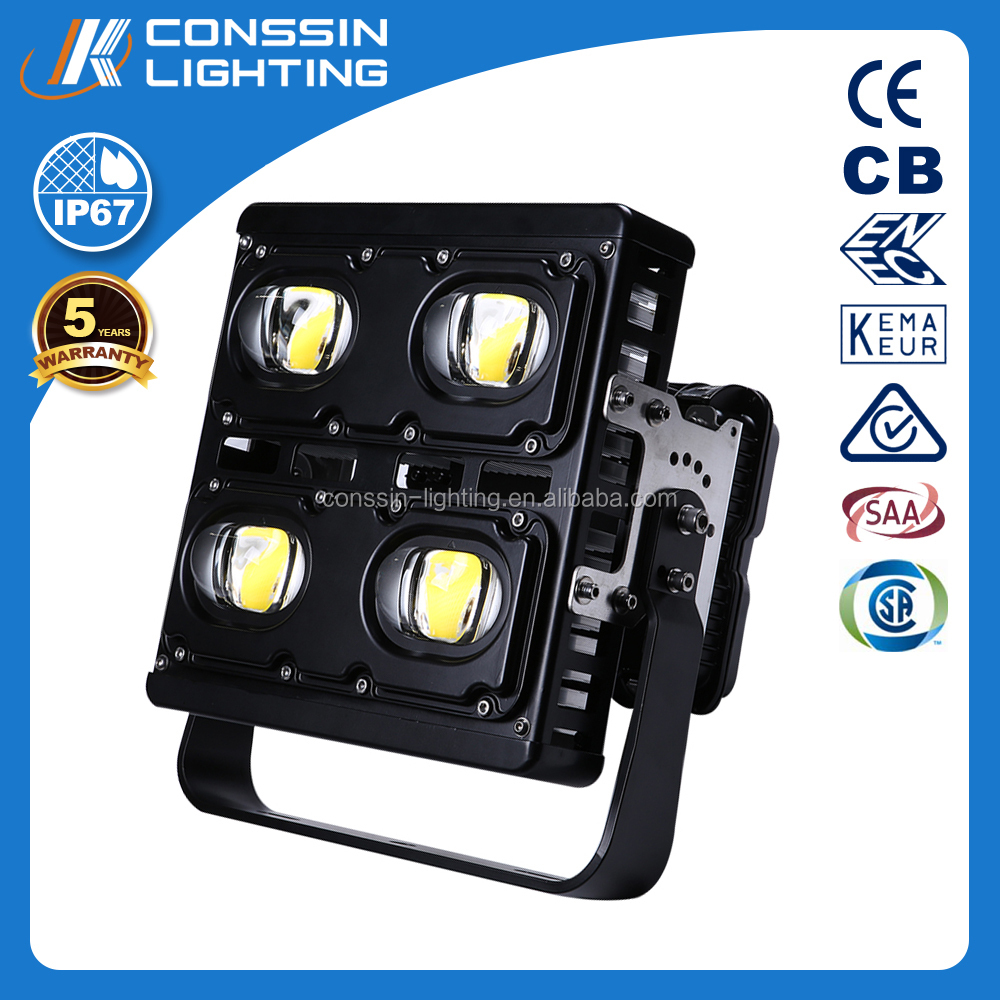 300w tennis court led high mast light ENEC,SAA,CSA approved