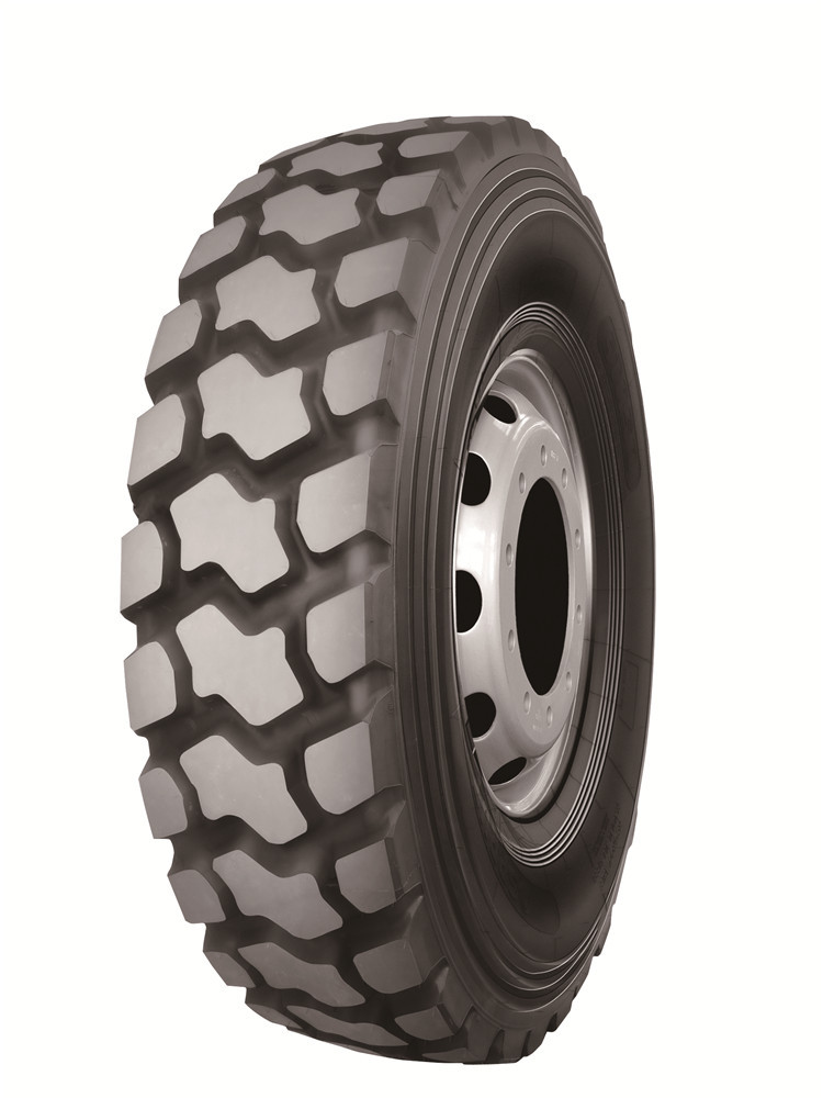 Good quality R83 off road 22.5 truck tire for mining and construction truck