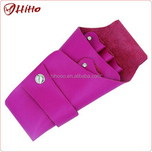 Personalized Pink Leather Scissor Holster Hairdressing Tool Belt