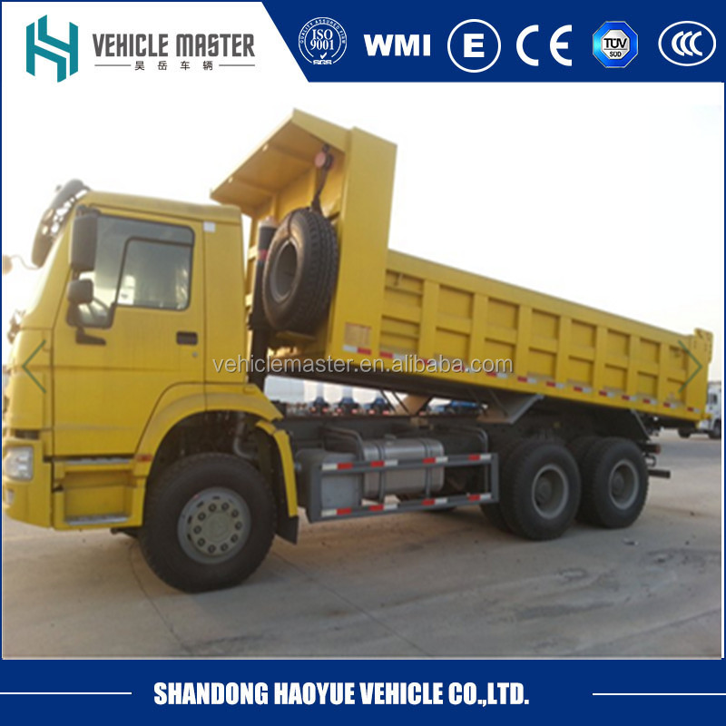 Sino truck dump truck with ZF transmission on sale