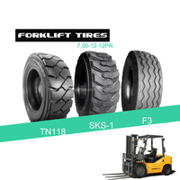 7.00-12-12pr whole sales prices bias inner tube forklift tyres /tires